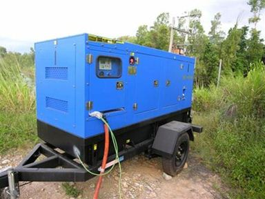 Diesel Generator on Trailer