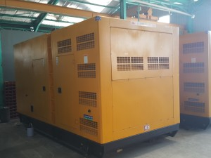 600kva cummins outside