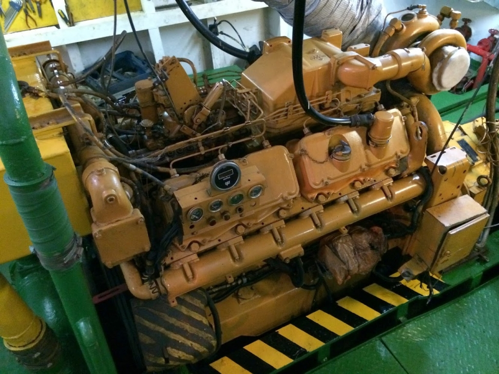 Caterpillar engine