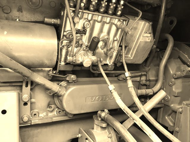 Volvo Penta Engine Inside