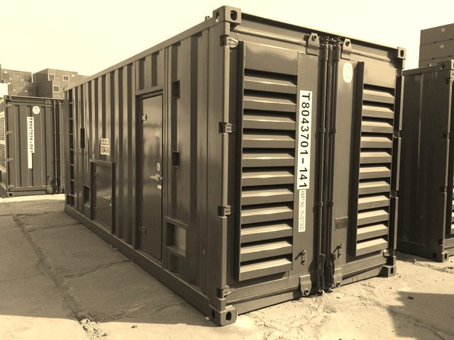1000kW Container Generator by us