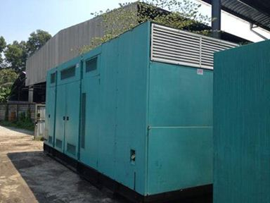 Genset for treatment plant