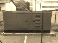 125kVA Genset Installed & Fenced