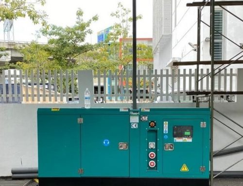 Standby Generator For Factories