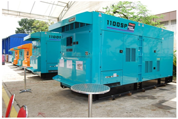 Oil & gas standard gensets