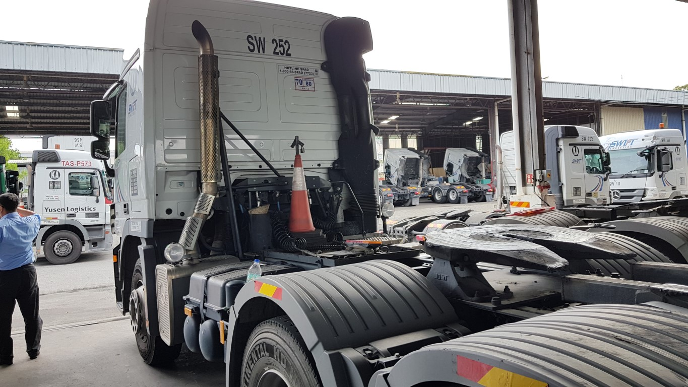 generator for lorry haulier