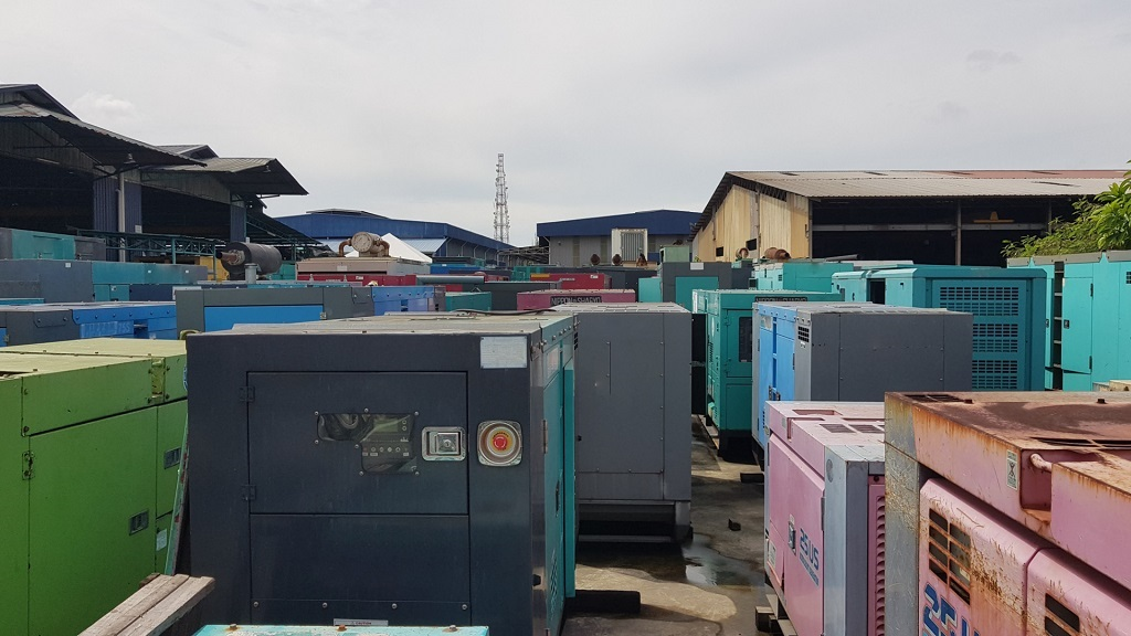 genset yard full