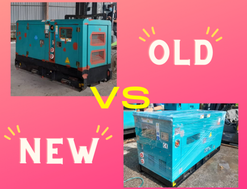 Should I buy a New or Used Generator | MGM Malaysia