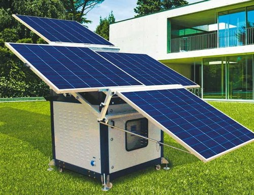 Solar Power Genset Hybrid